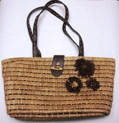 Image of Earth Friendly Corn Husk Tote Huge