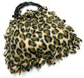 Image of Leopard Print Hobo Handbag