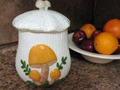 Image of Mushroom Cookie Jar