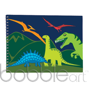 Image of CLEARANCE 50% OFF-Sketch Book/Dinosaur-WAS $15.95 NOW ONLY