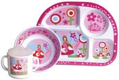 Image of CLEARANCE 50% OFF-Baby Melamine Set/Fairy-WAS $29.94 NOW ONLY