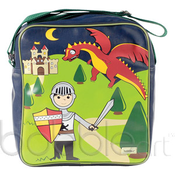 Image of CLEARANCE 50% OFF-Overnighter-Knight/Dragon-WAS $39.95 NOW ONLY