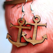 Image of Anchor Earring