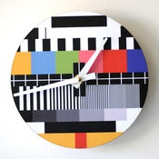 Image of Screen Test Clock (Round)