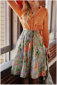 Image of Butterflies are Free Skirt