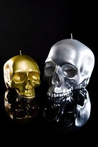 Image of DL & Co. - Medium Metallic Skull
