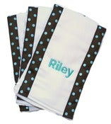 Image of Personalized Burp Cloth Set