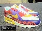 "Image of ""Cheetah's Fury"" Custom Air Max 90"