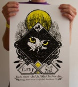 "Image of ""Owl Eyes"" Envy Screen Printed Poster"
