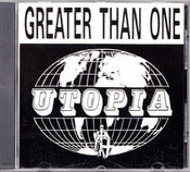 Image of GREATER THAN ONE-Utopia CD/ Original- Out Of Print