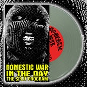 "Image of DOMESTIC WAR SHIRT / IN THE DAY SPLIT 7"" ALONE"