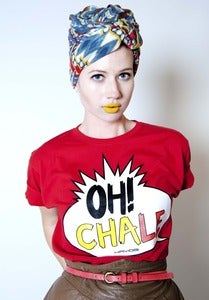 Image of Oh Chale  Red  (Womens)