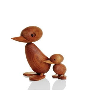 Image of Duck and Duckling by Hans Bolling