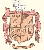 Image of THE HERALDIC ACHIEVEMENT OF SIR BOYNTON // print