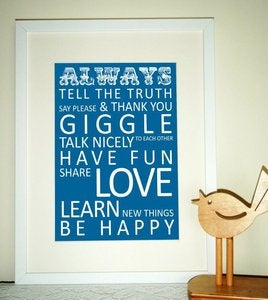 Image of May&Belle ~ALWAYS~ Tram Scroll Print