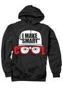 Image of I Make Smart Cool Logo Hoodie (Black)