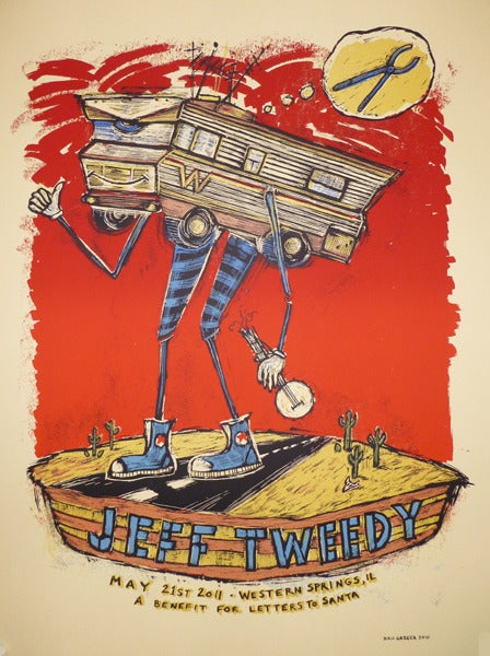 Image of Jeff Tweedy Winnebago poster