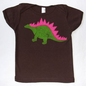 Image of DINO T-SHIRT:  BLOCK PRINT