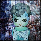 "Image of ""Dolls: Rose Blue"" <br> Sizes: 4x4"", 6x6"" & 8x8"""
