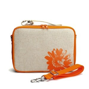 Image of So Young Mother Lunch Box - Orange Daisy