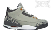 Image of Air Jordan 3 Cool Grey Retro