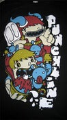 Image of Punchline<br>'Ice Cream Monster'<br>T-Shirt (Black)