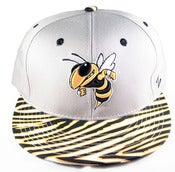 Image of Georgia Tech University Vintage Inspired Snapback by Community 54