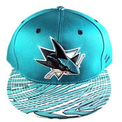 Image of San Jose Sharks Vintage Inspired Snapback by Community 54