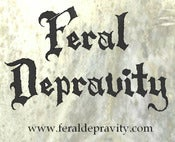 Image of Feral Depravity bumper sticker