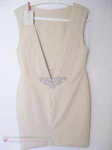 Image of Cream Eva Dress