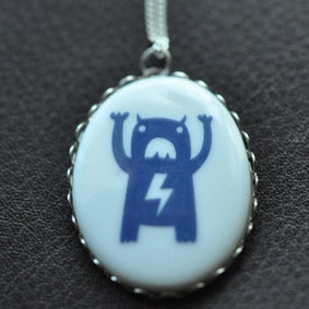 Image of Carry Monster Ceramic Necklace