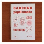 Image of PAPEL MOEDA CADERNO by Serrote