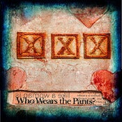 Image of &quot;Who Wears The Pants?&quot; &lt;br&gt; Sizes: 4x4&quot;, 6x6&quot; &amp; 8x8&quot; 