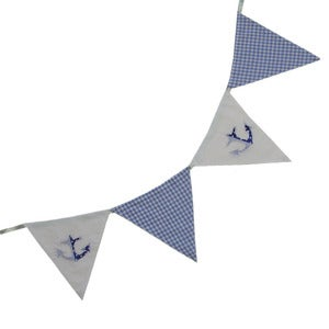 Image of Powell Craft Boat &amp; Gingham Bunting
