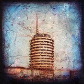 "Image of ""Hollywood Series, Capitol Building"" <br> Sizes: 4x4"", 6x6"" & 8x8"""