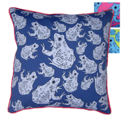 Image of frog cushions