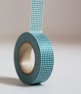 Image of GRID Japanese Washi Tape- Single Roll 15mm