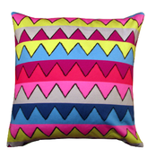 Image of zigzag cushion