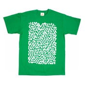 Image of ISOMETRIC GREEN T-SHIRT - LTD EDITION