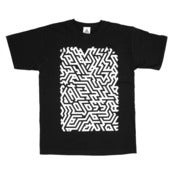 Image of ISOMETRIC NOIR T-SHIRT