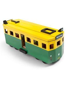 Image of iconic toy tram
