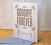 Image of Goodbye Forever