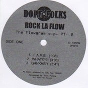Image of ROCK LA FLOW &quot;The Flowgram Pt.2&quot;