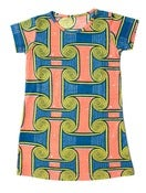 Image of Tili Bwino JOTO pattern girls t-shirt dress
