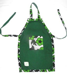 Image of Green 'Toto' Kids Apron