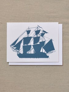 Image of Ship Note Card