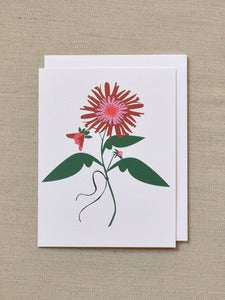 Image of Dahlia Note Card