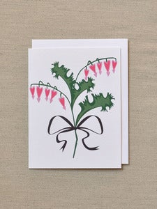 Image of Bleeding Heart Note Card