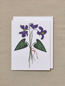 Image of Violet Note Card