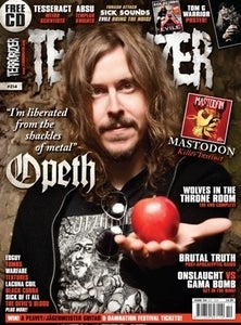 Image of Terrorizer 214: Opeth, Mastodon, Wolves in the Throne Room, Sick Sounds #8 with Evile!